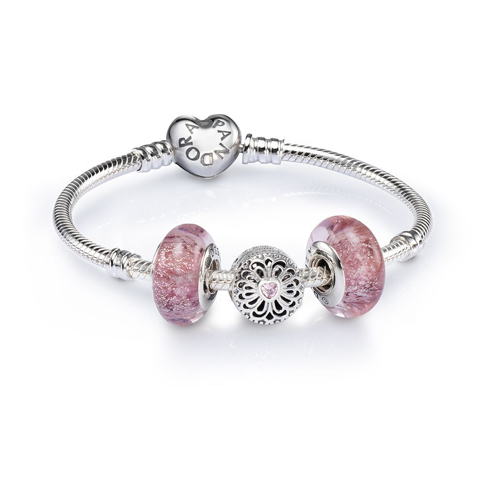 Crea Il Tuo Amore And Friendship Openwork Charm Bracelet pandoracharm